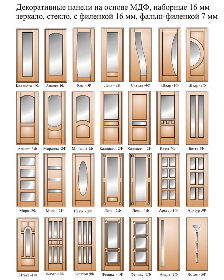 образцы зеркал на входных дверях
