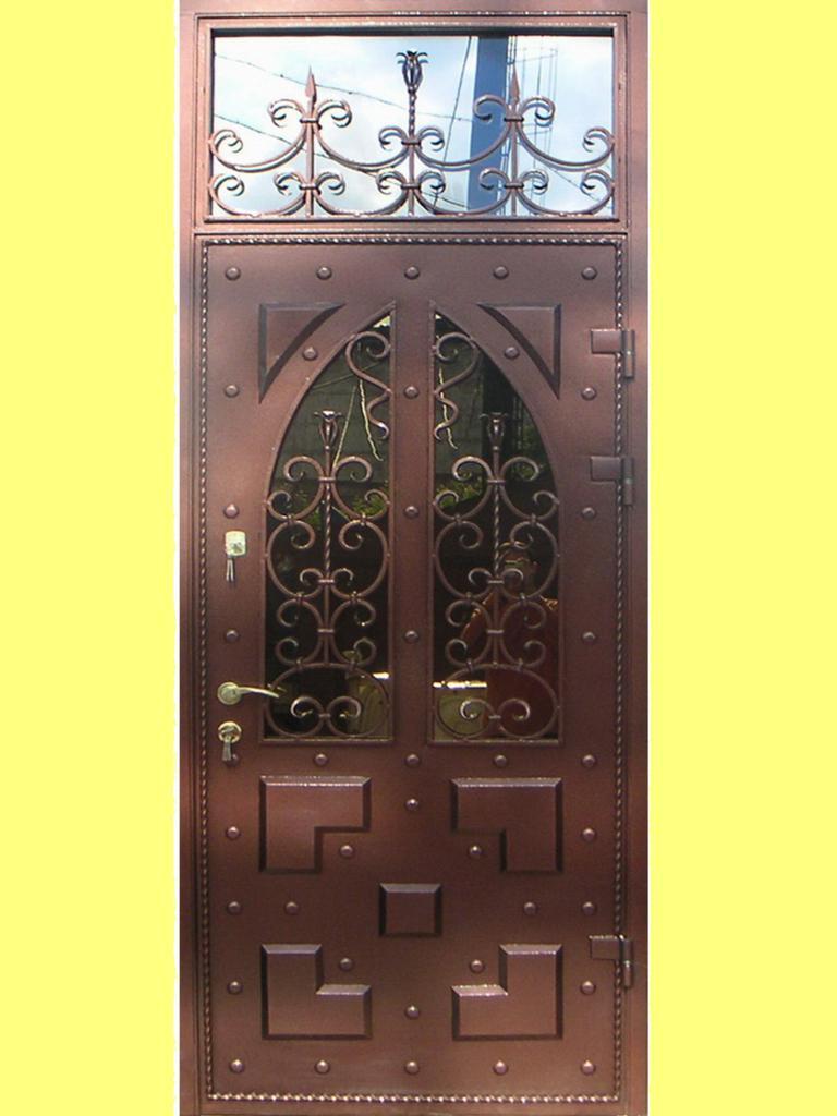 входные металлические двери с ковкой в сергиев посад