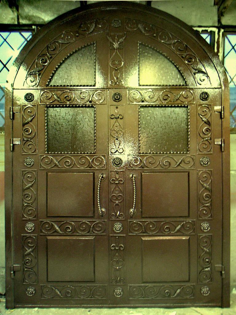 стальная кованые дверь качества